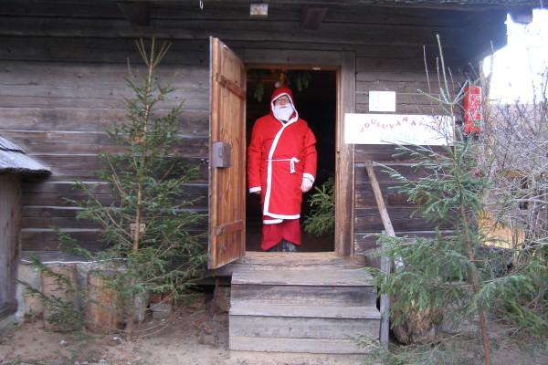 Jõuluvana ootab lapsi